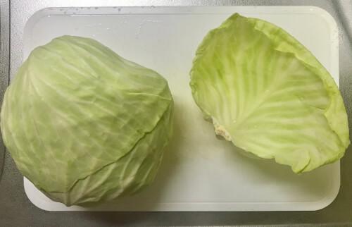 食品の保存テク 1週間前のキャベツ