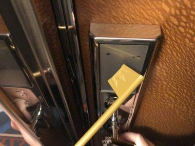 キーブレードでドアを開ける